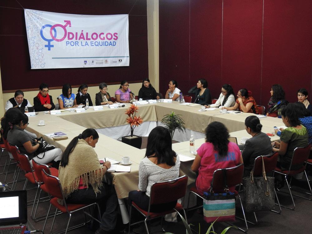 Diálogos por la Equidad Portada