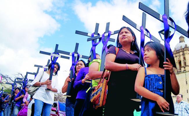 En 2017 Oaxaca ocupó el tercer lugar nacional por feminicidios; sólo después de Veracruz y Sinaloa. (ARCHIVO. EL UNIVERSAL)